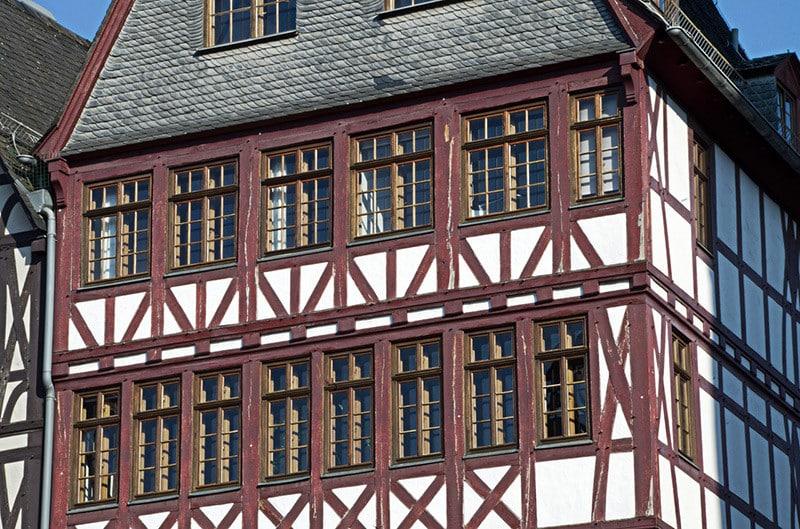 Historische Fachwerke in Frankfurt am Main