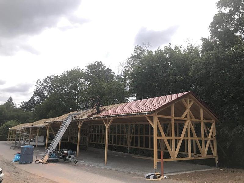 Teil 3: Bau einer Maschinenlagerhalle